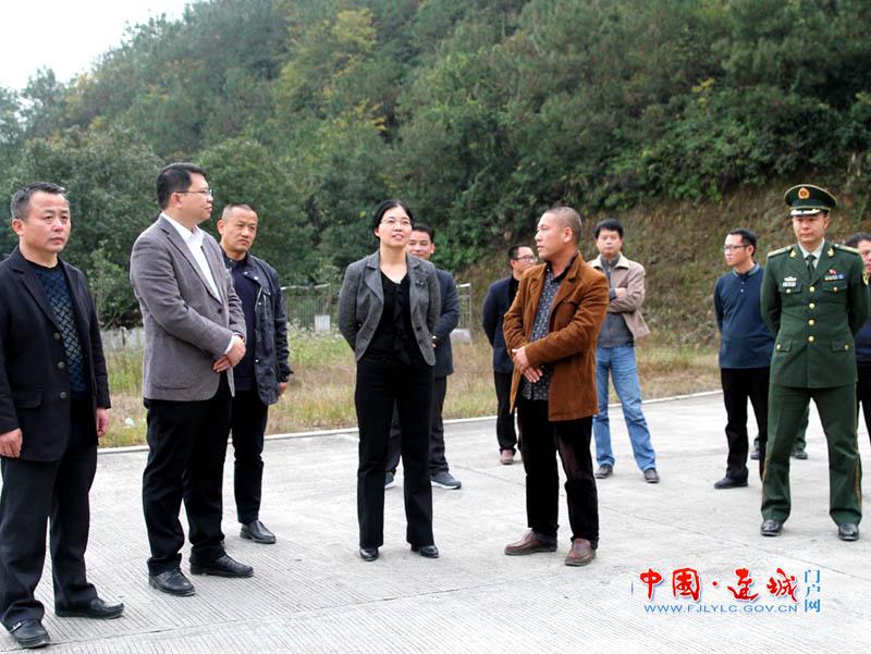 连城县委副书记、代县长吕素梅带队检查安全生产工作