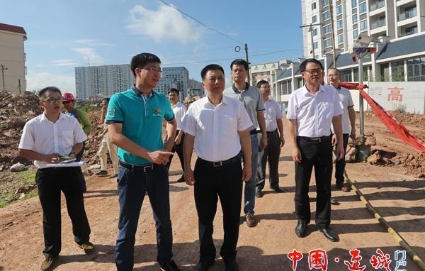 连城县委书记钟勇强调研中心城区重点项目征迁工作