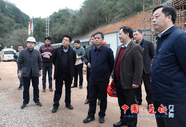 龙岩市副市长黄庆辉到连城县调研